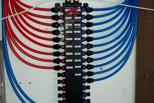 PEX Piping system installation